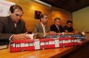 Gregório recebe vereadores durante diligência da CPI à Urbs