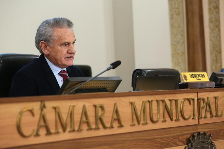 """""""Com inovação e modernização do plenário, a Câmara não parou"""", diz Sabino Picolo"""