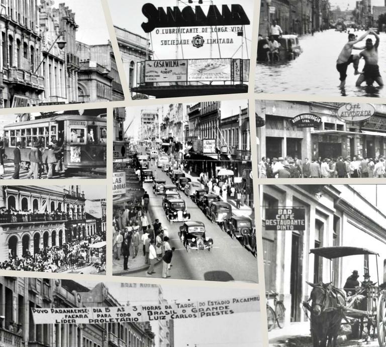 """""""Curitiba Ontem e Hoje"""": as histórias e as memórias por trás das fotos"""