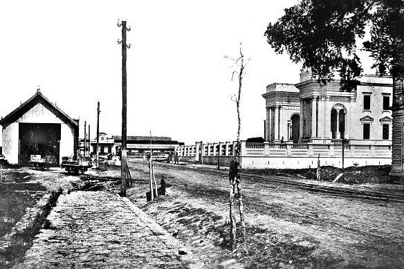 A história da construção do Palácio Rio Branco