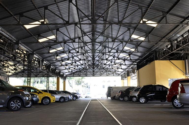 A história da Garagem de Bondes de Curitiba