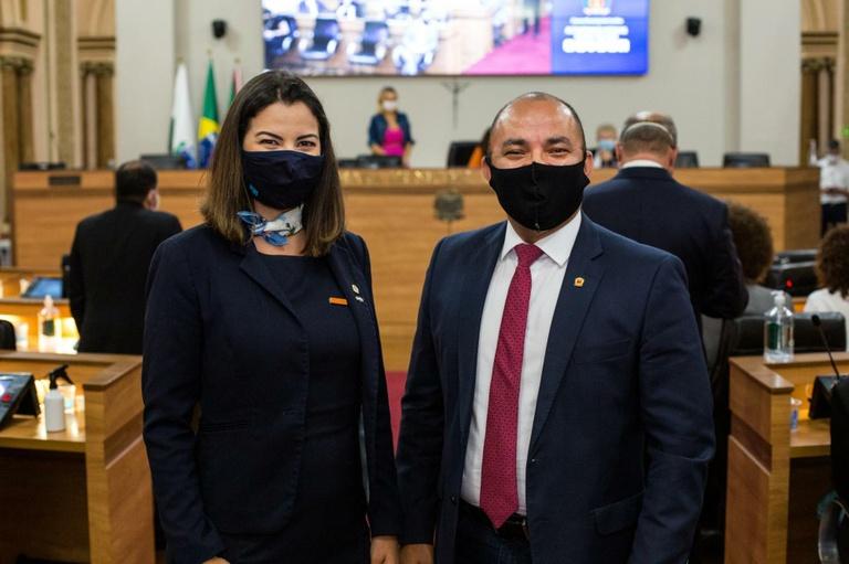 Amália Tortato assume a Corregedoria e promete atuação democrática