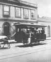"""Antes dos primeiros """"omnibus"""", os bondes puxados por mulas"""