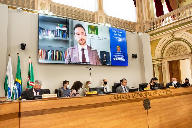 Audiência de Finanças: Curitiba teve queda de 5,48% nas receitas em 2020