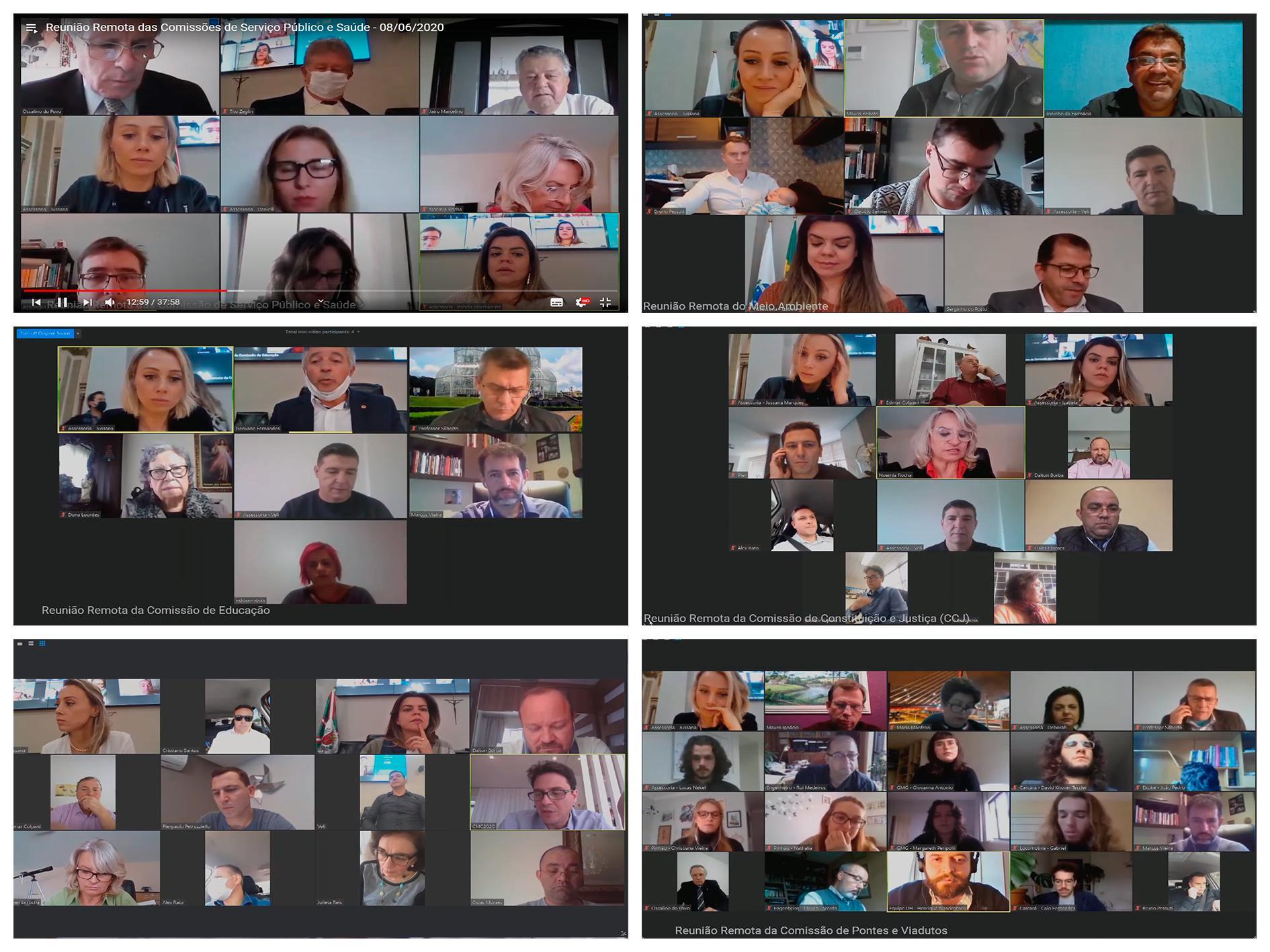 Balanço legislativo: com 56 reuniões virtuais, pandemia não parou comissões