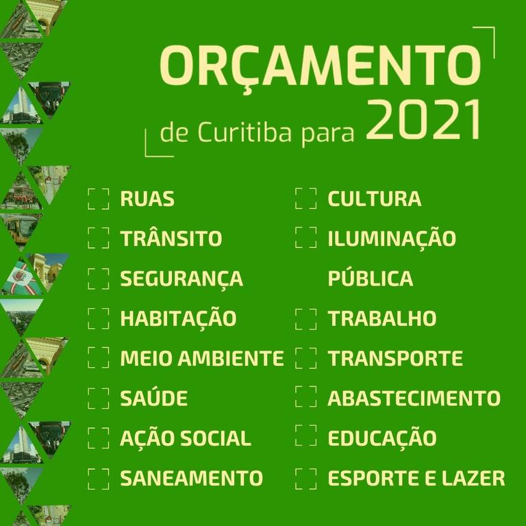 Câmara de Curitiba abre consulta pública para orçamento de 2021