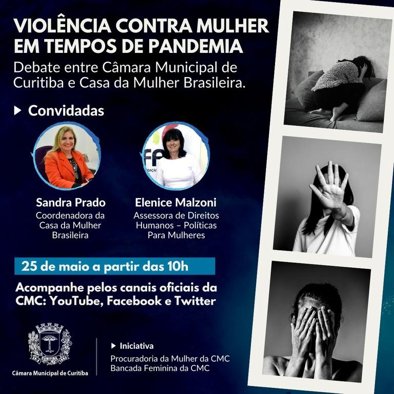 Câmara discutirá violência contra a mulher durante a pandemia