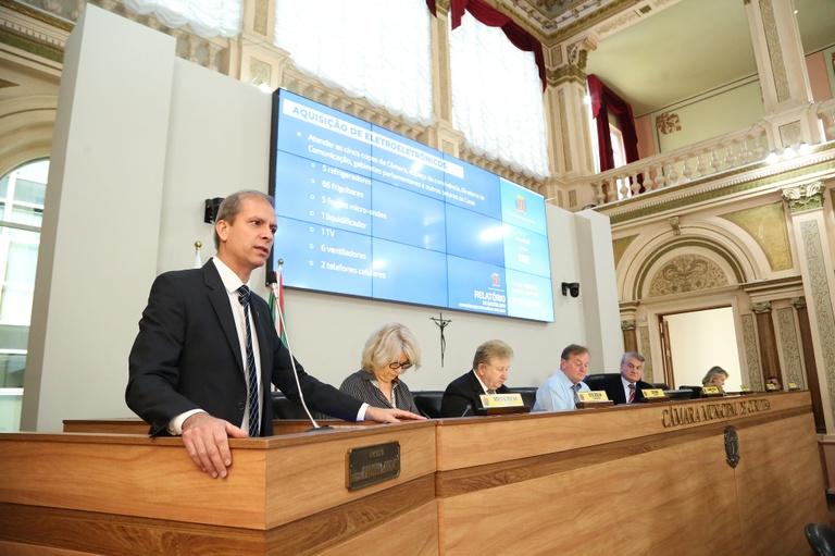 Câmara investe em melhorias para segurança e execução do trabalho