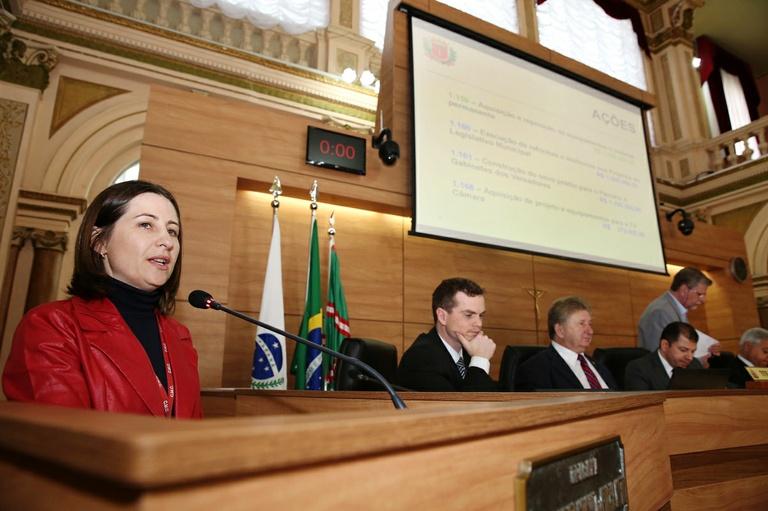 Câmara Municipal faz prestação de contas do 2º quadrimestre