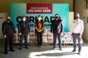 Contra a fome, campanha Abrace Curitiba entrega 100 cestas básicas à FAS