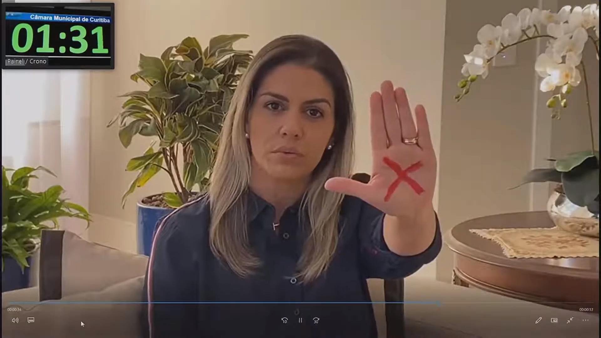 Contra violência doméstica, CMC apoia campanha Sinal Vermelho
