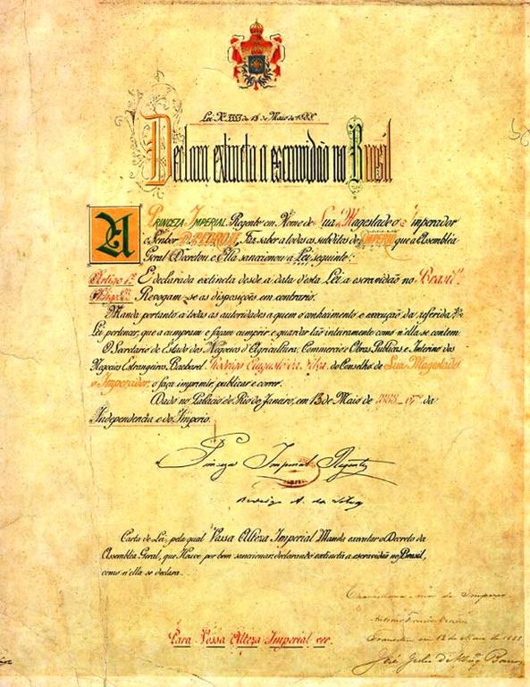 Curitiba e os 125 anos da abolição da escravatura