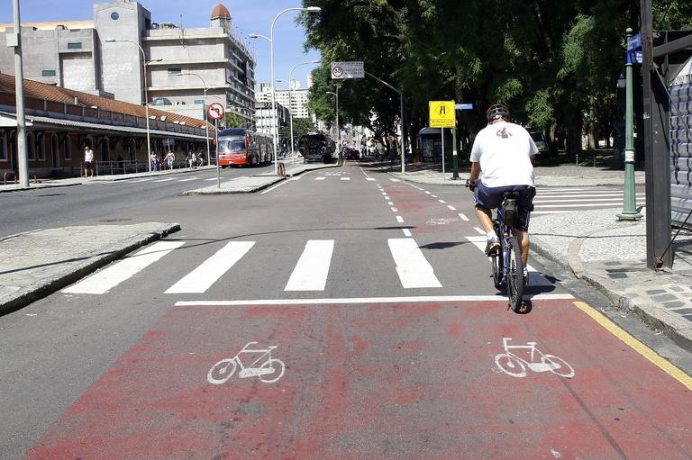Curitiba: Lei da Bicicleta entrará em vigor daqui 90 dias