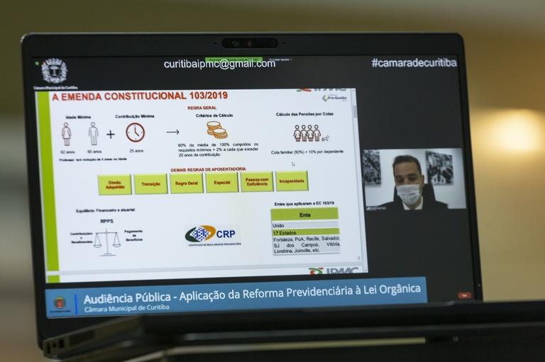 Em audiência, IPMC é questionado sobre futuras mudanças na previdência de Curitiba