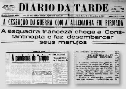 Espanhola: A pandemia das pandemias que atingiu Curitiba
