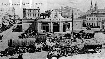Mercado Municipal em 1900