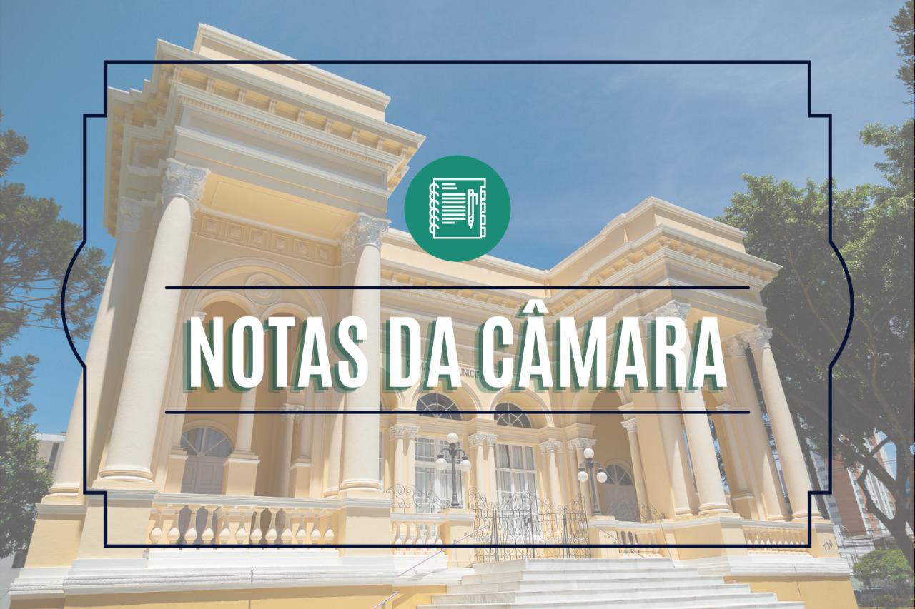 Notas da Câmara Municipal