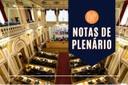 Notas da sessão plenária de 10 de março