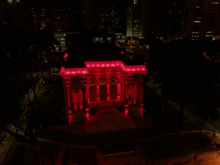 Para incentivar doação de sangue, CMC utiliza Palácio Rio Branco e redes sociais
