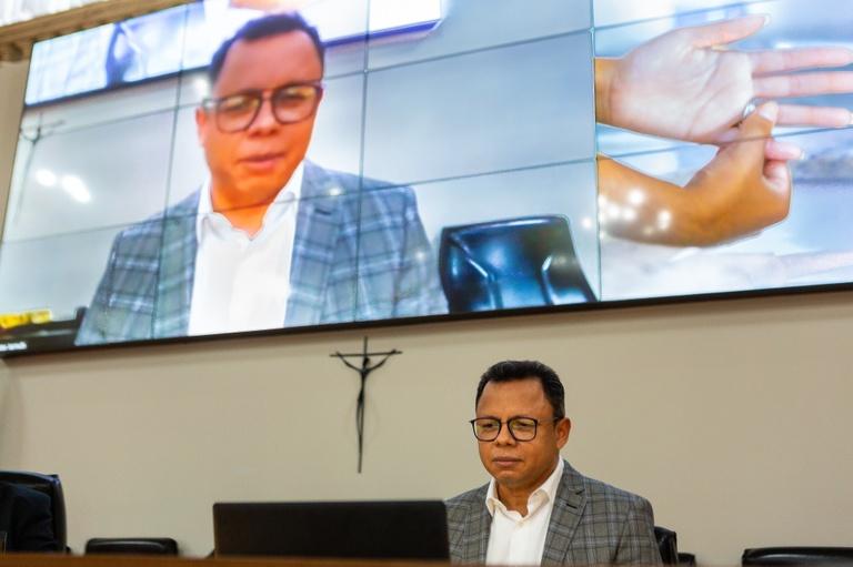 Pastor visita a Câmara e pede positividade durante a pandemia