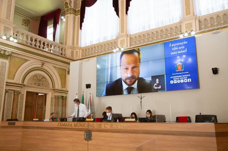 Sugestão de moratória fiscal tem apoio dos vereadores da Câmara de Curitiba