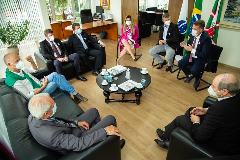 Visita à Presidência: Câmara de Curitiba e ACP em interlocução permanente