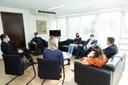 Visita à Presidência: CMC recebe presidente da Câmara de Joinville