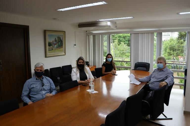 Visita à Presidência: Conselho dos Direitos da Pessoa com Deficiência
