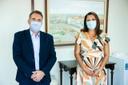 Visita à presidência: Tico Kuzma recebe Conselho Regional de Enfermagem
