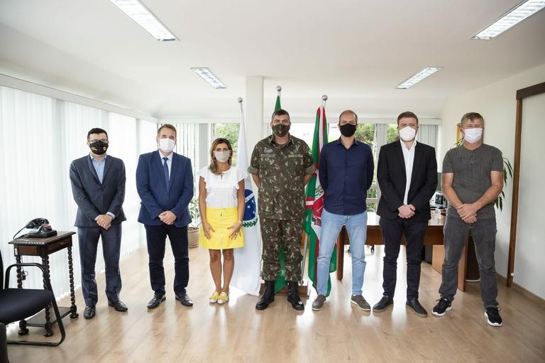 Visitas à presidência: Comando do Exército, FGV e Câmara Municipal de Matinhos