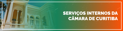 Banner Acesso aos serviços internos da Câmara